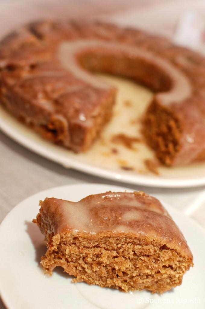 Ciasto dyniowe z syropem klonowym