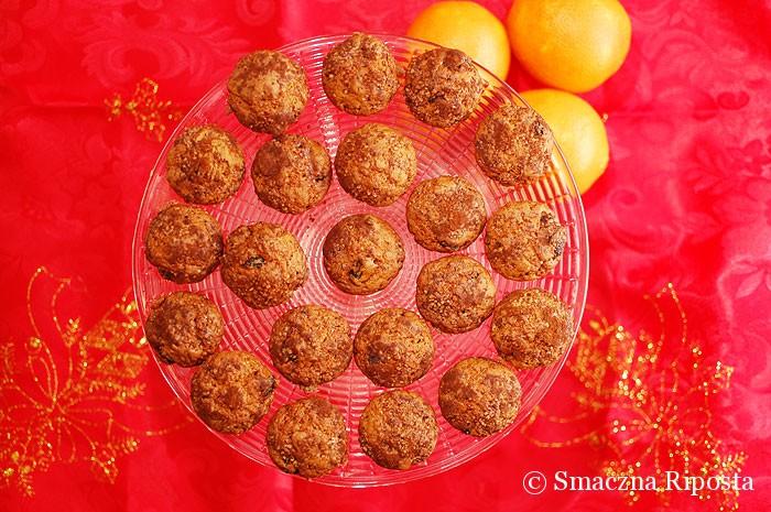 Świąteczne muffinki z pomarańczą i żurawiną