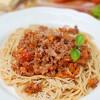 Prawdziwe włoskie spaghetti bolognese