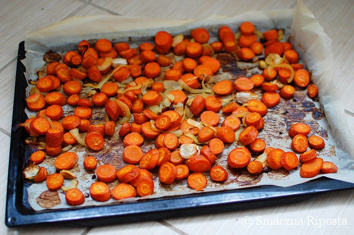 Zupa z pieczonej marchewki z nutą pomarańczy i kuminem
