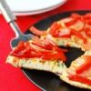 Frittata z pomidorami i czerwoną papryką