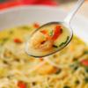 Tajska zupa z krewetkami i mlekiem kokosowym
