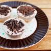 Mini serniczki na zimno czekoladowo-miętowe