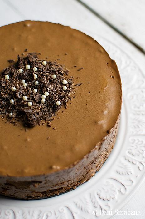 czekoladowe ciasto musowe