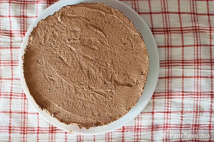 Kawowy jogurtownik z wiśniami i czekoladowo – kawową pianką