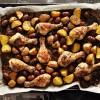 Kurczak po hiszpańsku z kiełbasą chorizo i ziemniakami